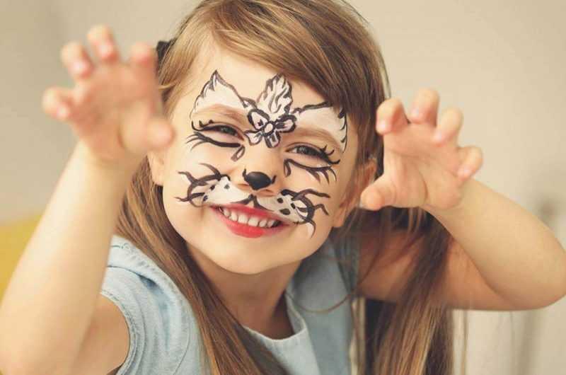 Аквагрим для детей — инструкция, как нанести в домашних условиях. Фото лучших идей с подробным описанием и схемами