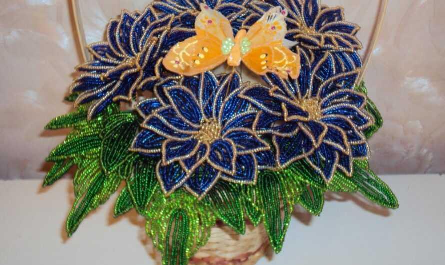 Цветы из бисера: мастер-классы как создать цветок из бисера с полными описаниями работы + фото готовых поделок своими руками
