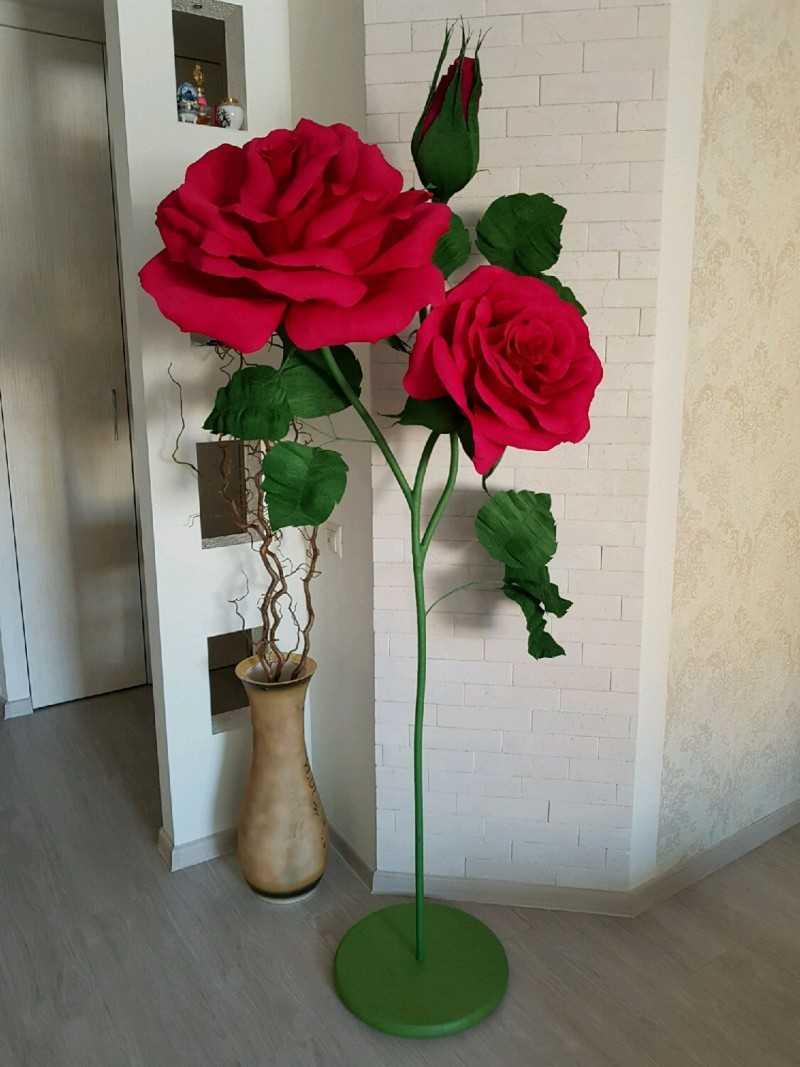 kak sdelat rozu iz bumagi 135