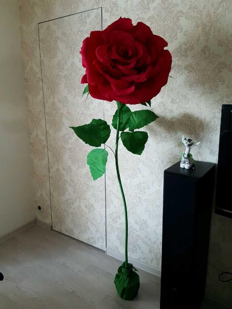 kak sdelat rozu iz bumagi 199