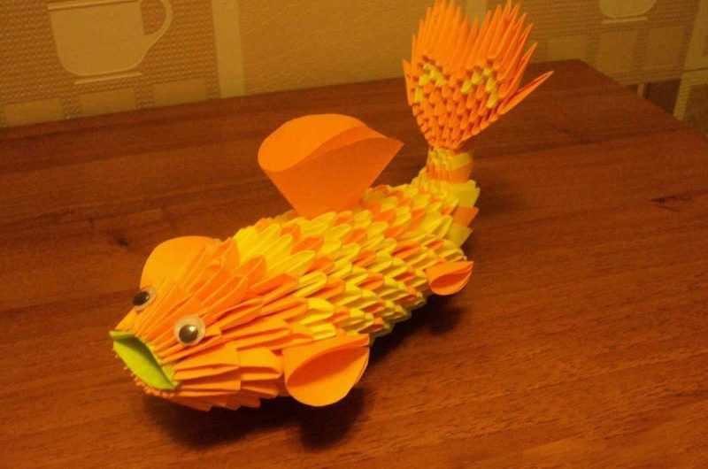Поделка рыбка — ТОП-120 простых схем и инструкций создания поделки своими руками + фото-идеи дизайна поделки