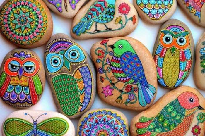 Поделки из камней: лучшие идеи поделок из камней своими руками. Инструкции для детей + простые фото-схемы работы