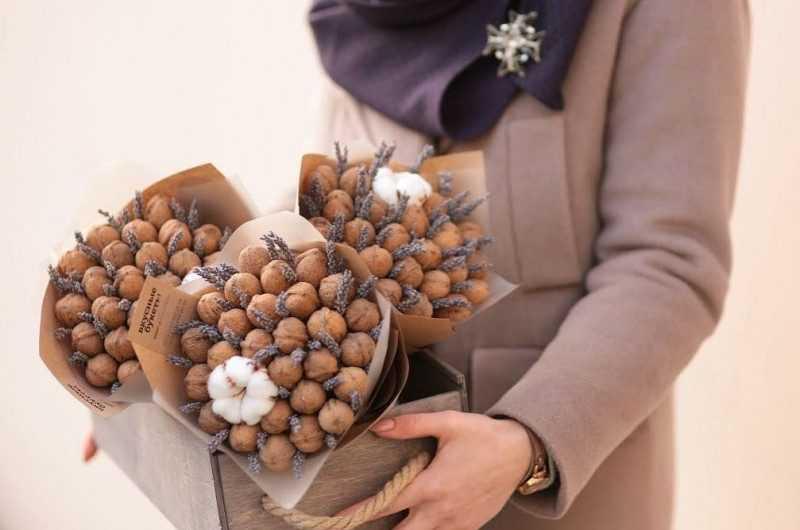 Поделки из орехов — подробные инструкции, как сделать поделку своими руками + поэтапные руководства (120 фото)